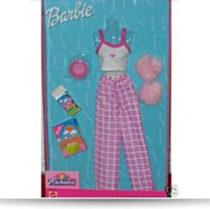 2001 Barbie Fashion Avenue Lingerie Fashion