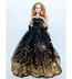 barbie doll clothes beautiful black strapless