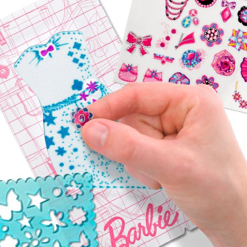 Barbie design and dress studio sticker refill kit image 3
