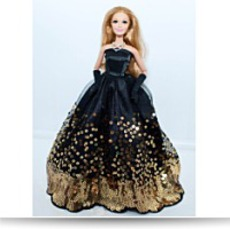 Barbie Doll Clothes Beautiful Black