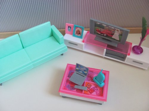 Barbie Size Dollhouse Furniture Family Barbie Clothing