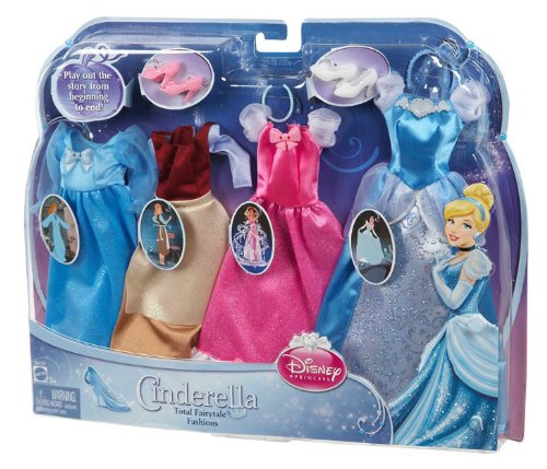 Cinderella Fairytale Fashion Pack Doll Accessories