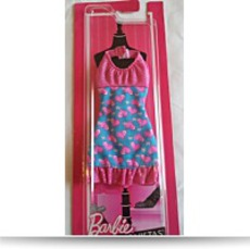 Fashionistas Halter Dress Pink Hearts