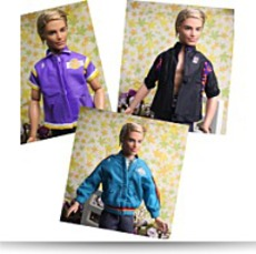 Lot Of 3 Barbie Boyfriend