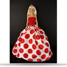 Really Fun Red And White Polka Dot