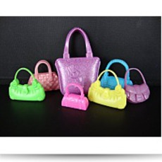 Set Of 7 Purses Set B Includes