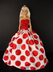 really white polka gown barbie doll