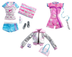 barbie sports star fashion pack career