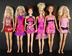 group beautiful cocktail dresses barbie doll
